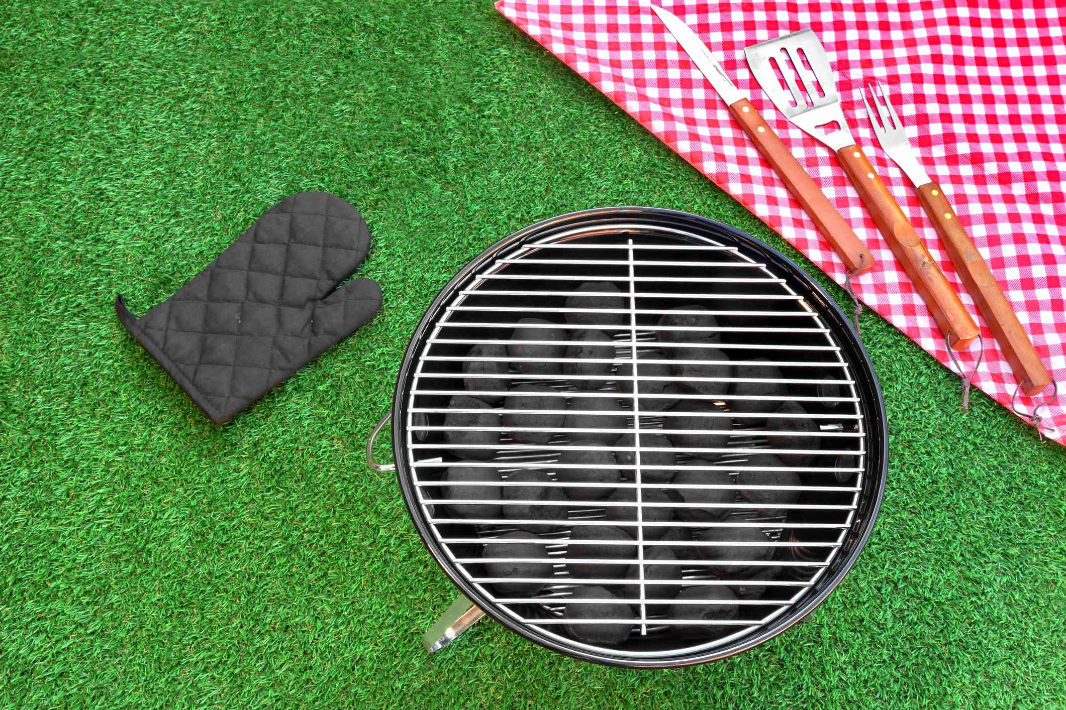 Summer Weekend Or Holiday BBQ Grill Party Or Picnic Concept
