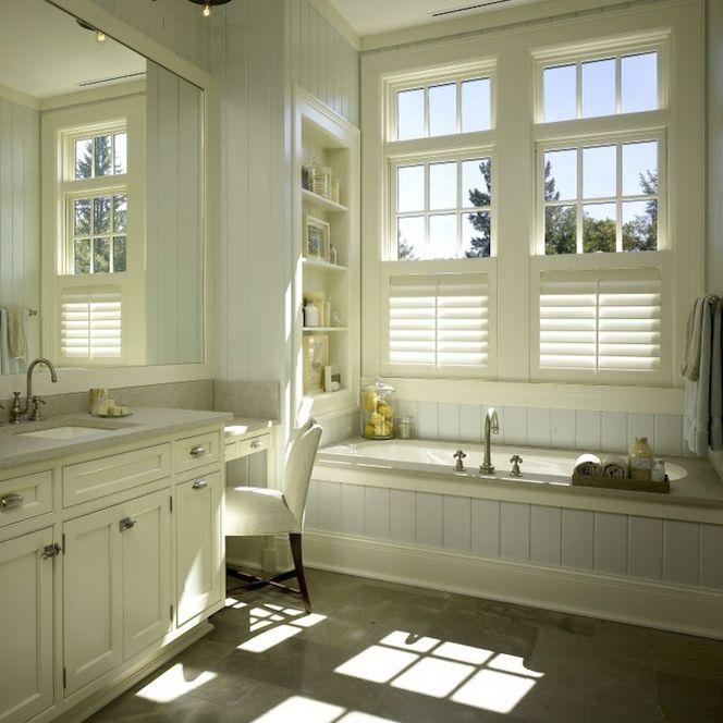 Traditional Dream Bathroom With Beadboard Walls