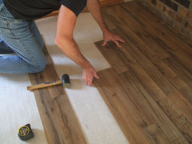 Wood Flooring Laminate Installation, How Easy Is It To Fit Laminate Flooring