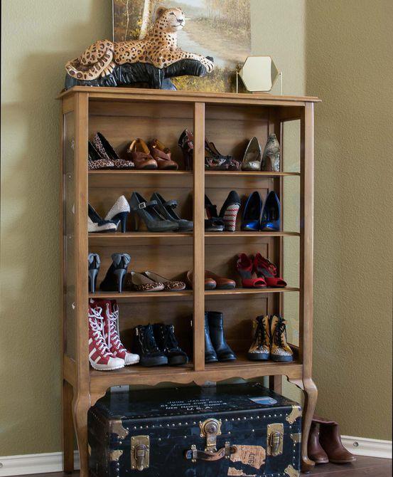 gabinete de zapatos
