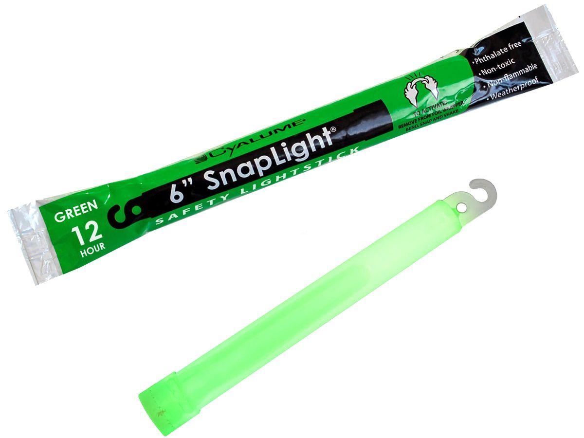 Cyalume SnapLight Green Glow Sticks