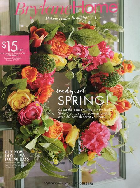 request a free brylane home catalog