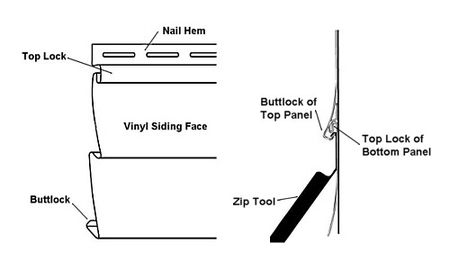 How To Use A Zip Tool To Remove Vinyl Siding