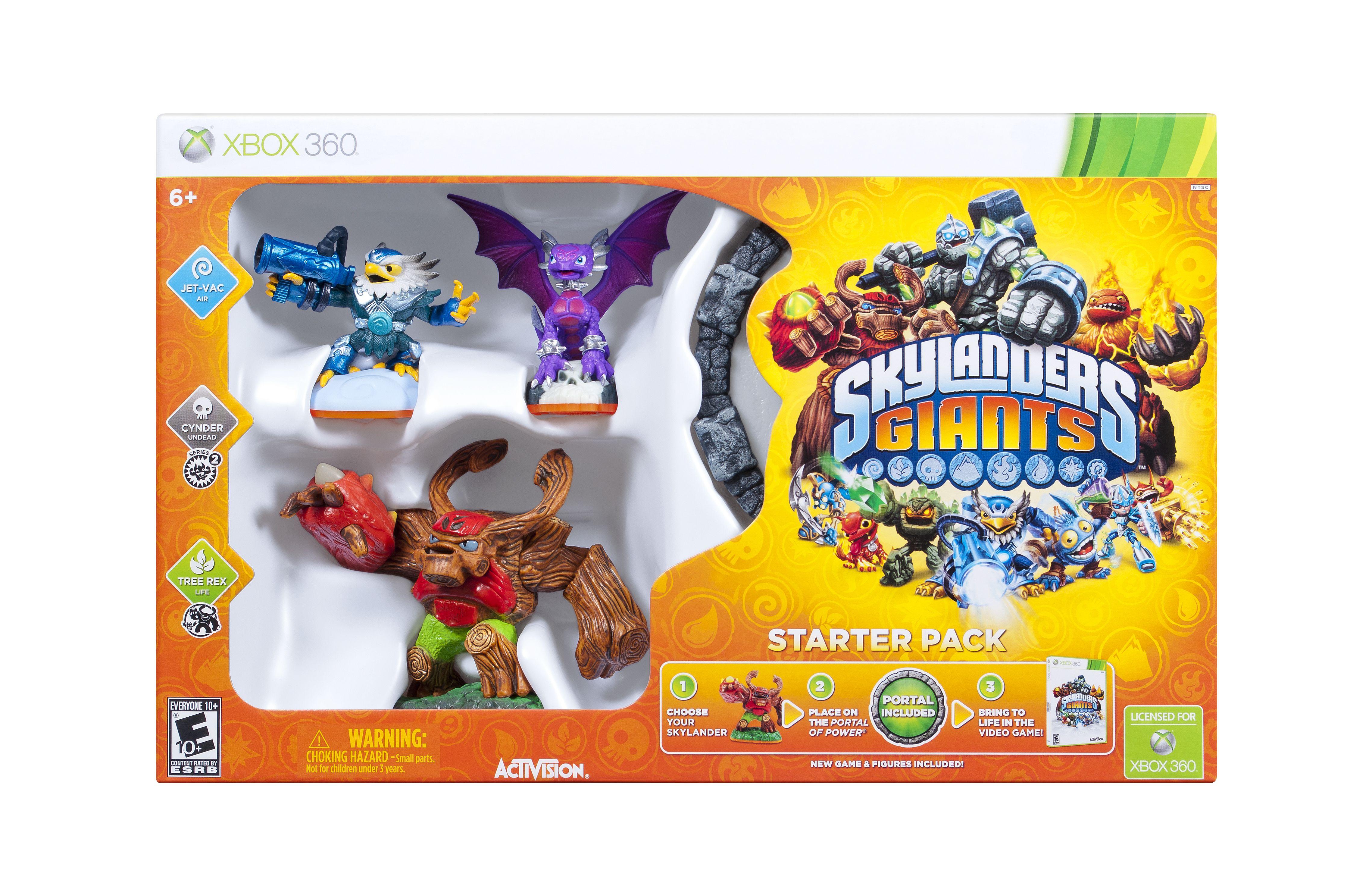 Skylanders Giants Starter Pack XBox