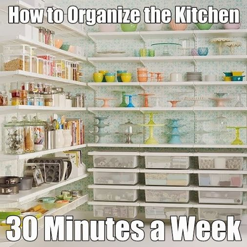 Thorough Kitchen Organization Checklist