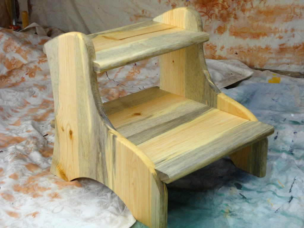 Pleasant 10 Free Plans For A Diy Step Stool Squirreltailoven Fun Painted Chair Ideas Images Squirreltailovenorg