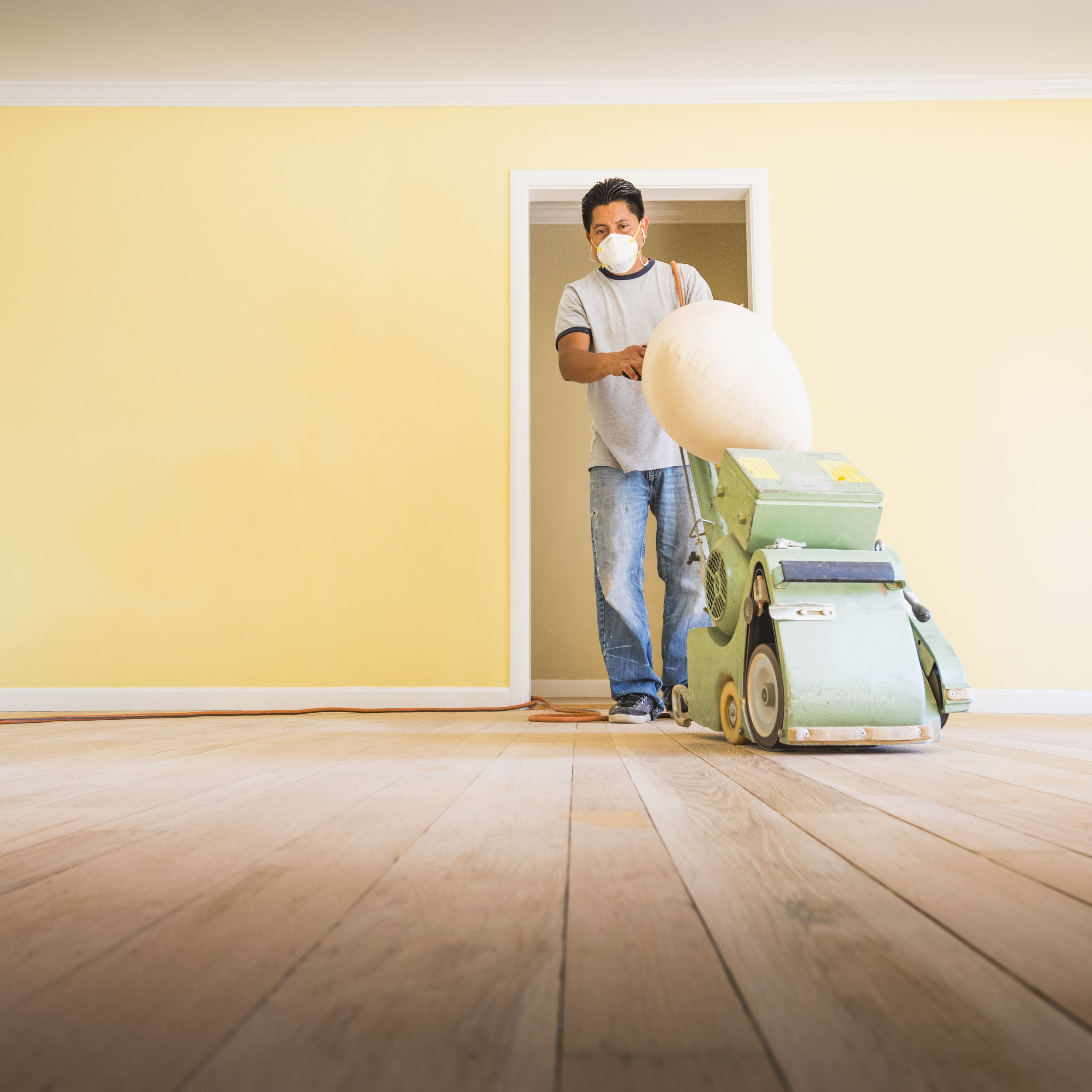should you paint walls before or after refinishing floors?