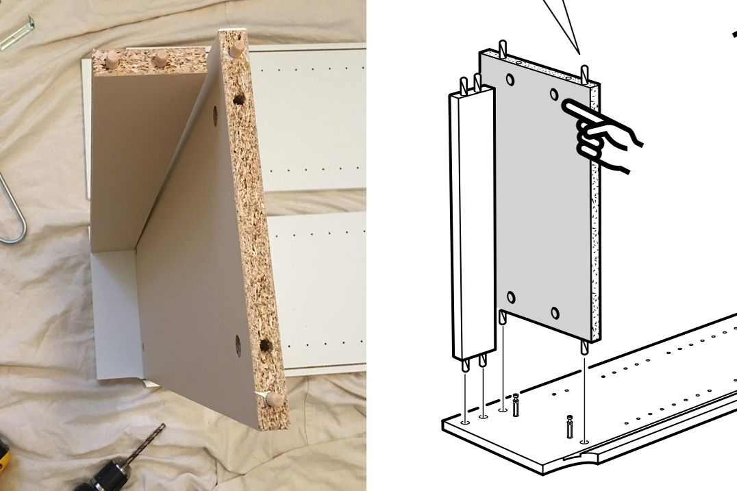 Trick to Reading Ikea Instructions
