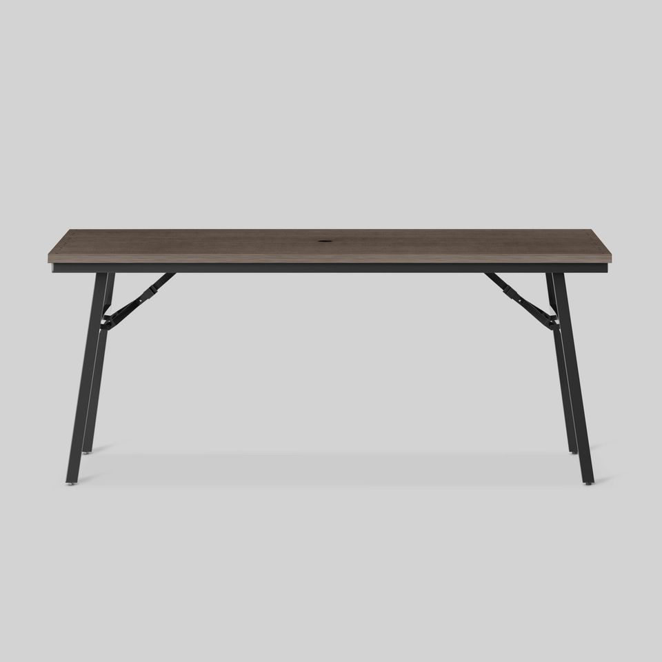 Mantega Faux Wood Folding Patio Dining Table - Project 62™