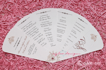 Free Wedding Program Templates You Can Customize - Easy wedding program template