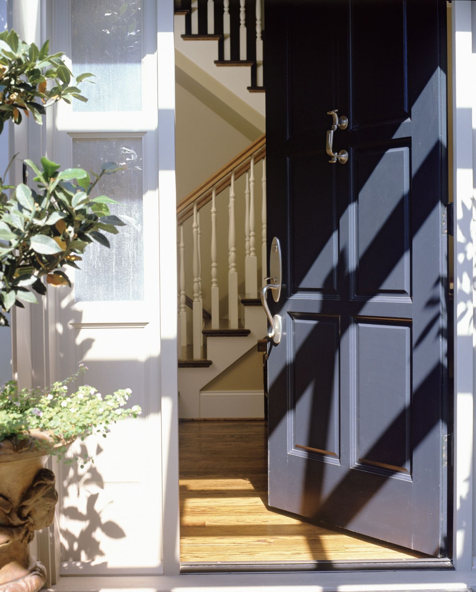 Improving The Bad Feng Shui Direction Of A Front Door