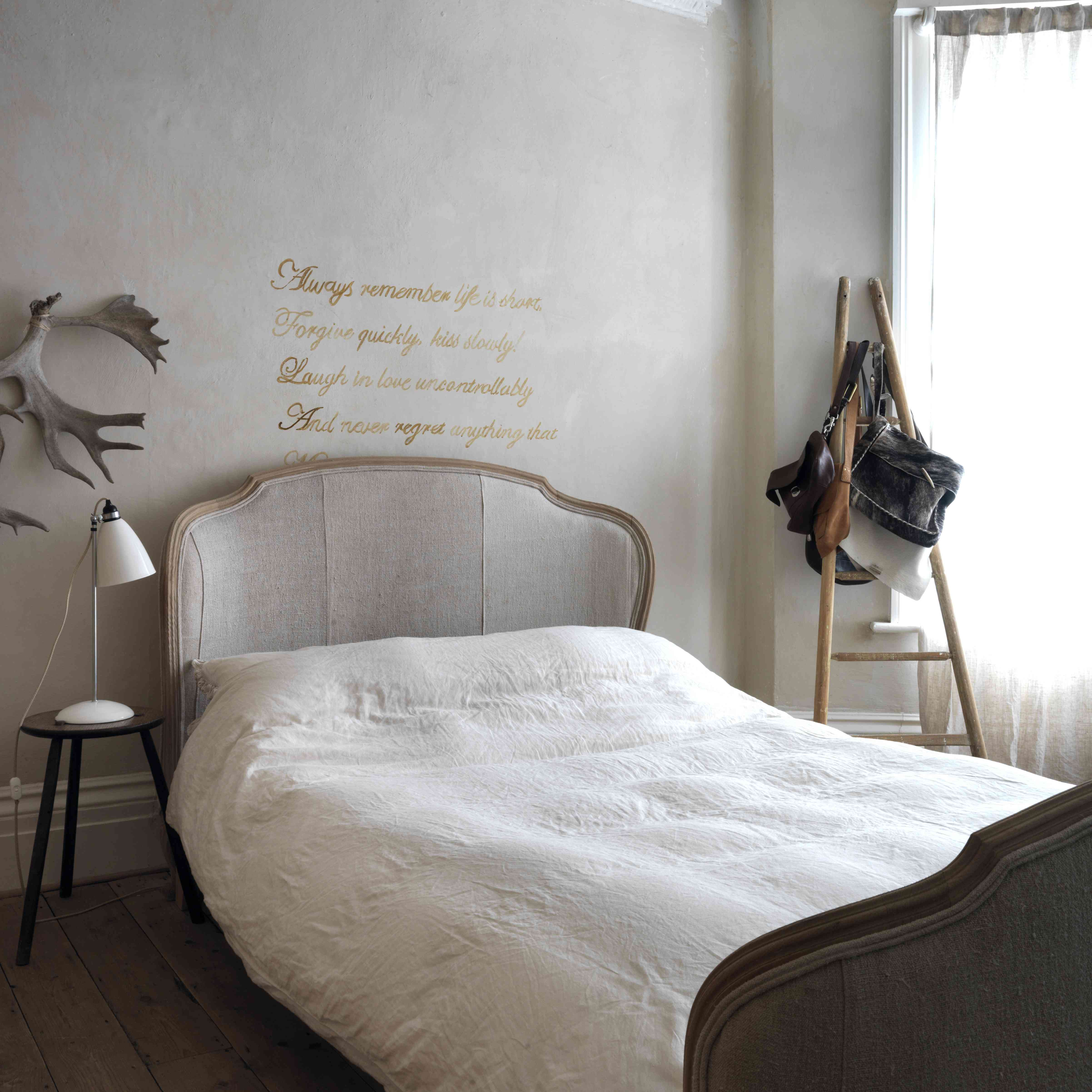 Elegant French country bedroom