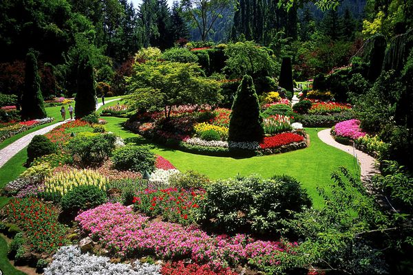 Butchart Gardens, Vancouver Island,British Columbia, Canada