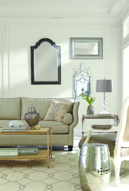 New Ways To Use SherwinWilliams' Alabaster Paint Color Best Sherwin Williams Living Room