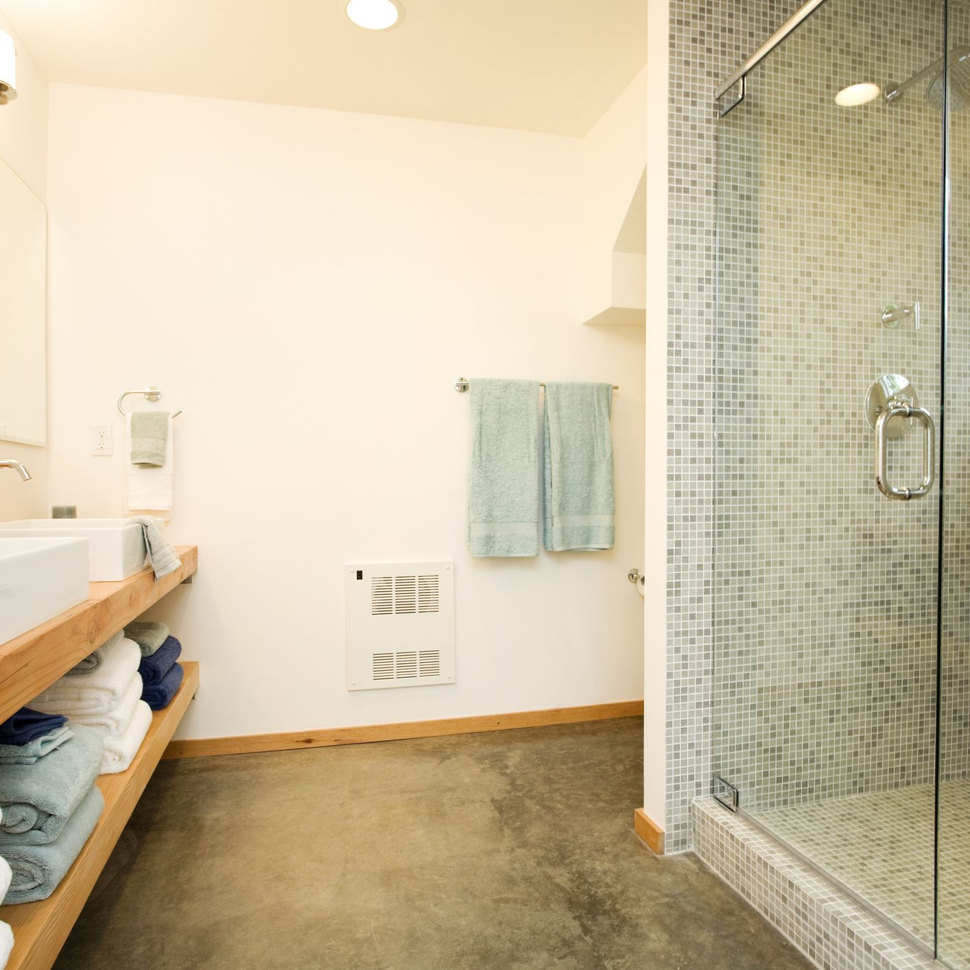 Concrete Bathroom Flooring Pros And Cons