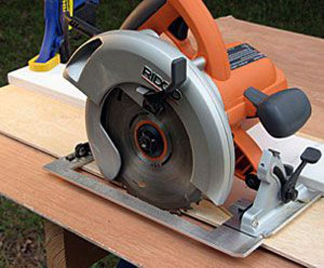 Square Cuts With a Saw Guide
