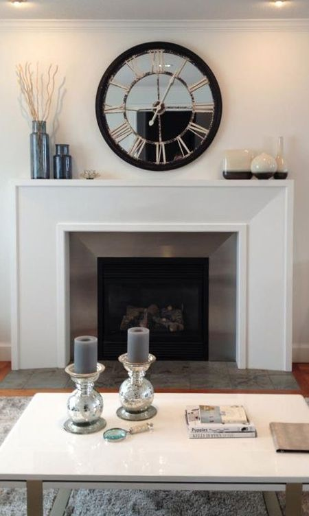 Modern Mantle Decor