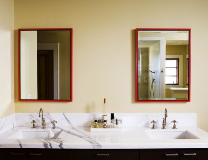 How To Replace And Install A Bathroom Vanity And Sink - How to install bathroom cabinet