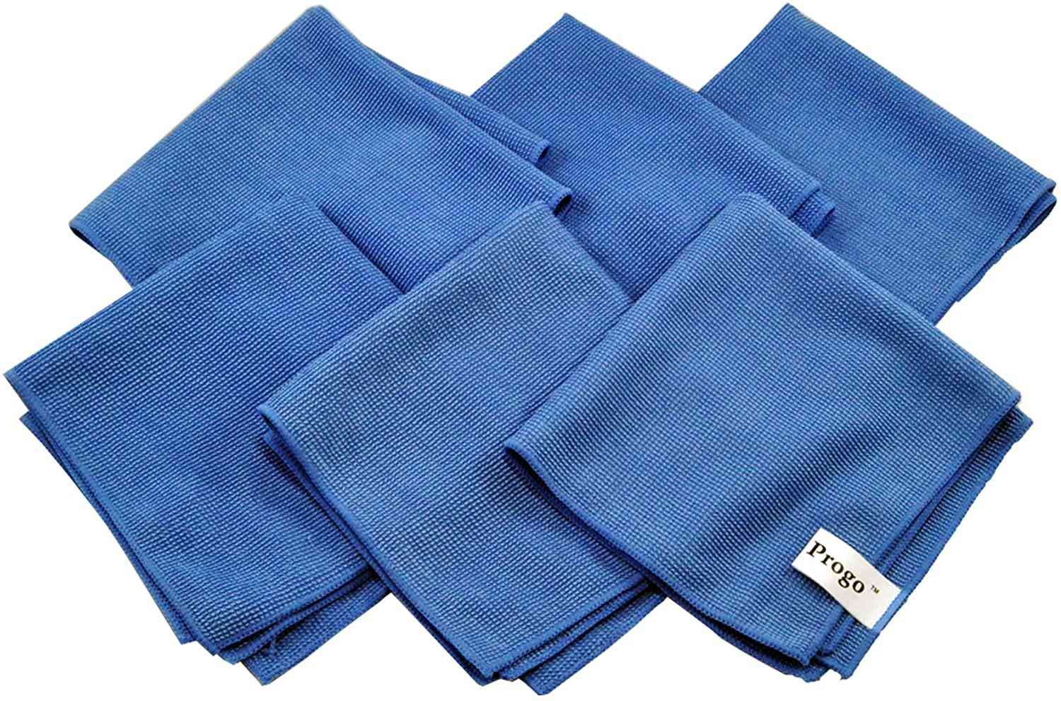 Progo Ultra Absorbent Microfiber Cleaning Cloths