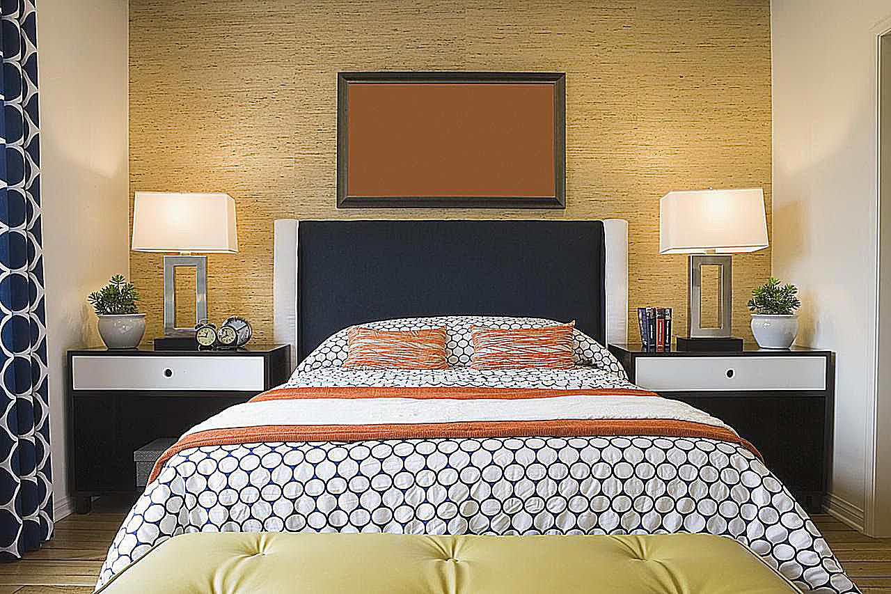 color complements in your bedroom schemes