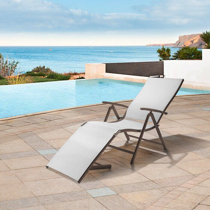 Capavella Adjustable Reclining Chaise Lounge