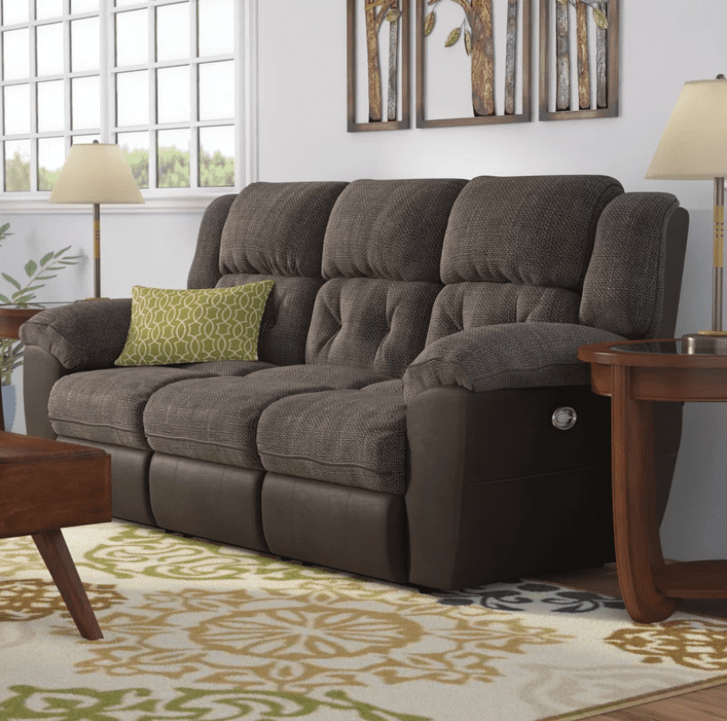 Best With Usb Ports Red Barrel Studio George Reclining Sofa