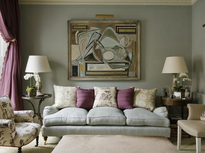 Classic English style living room