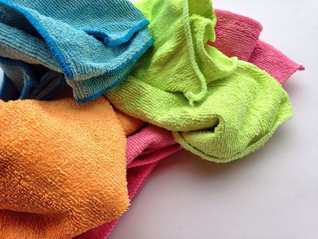 how to clean microfiber cleaning cloths