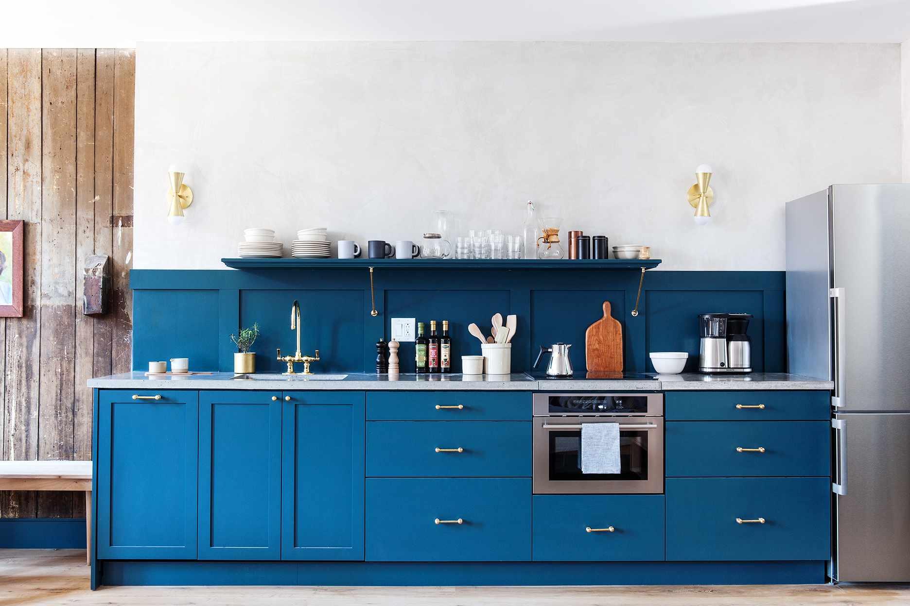 Blue kitchenette Lokal Hotel