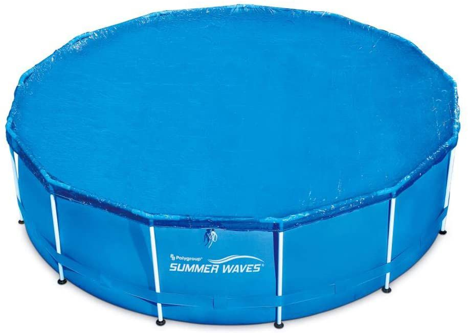 Summer Waves Adjustable Round Solar Pool Cover