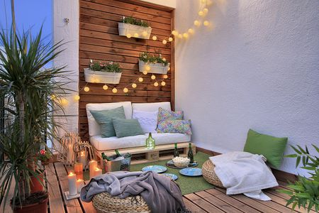 24 Ways to Make the Most of Your Tiny Apartment Balcony