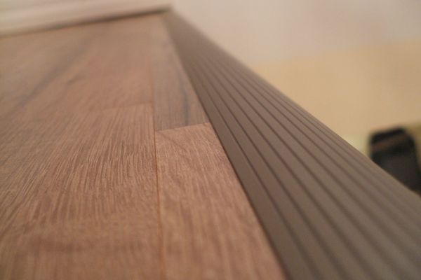 Edging Strip on Stairs