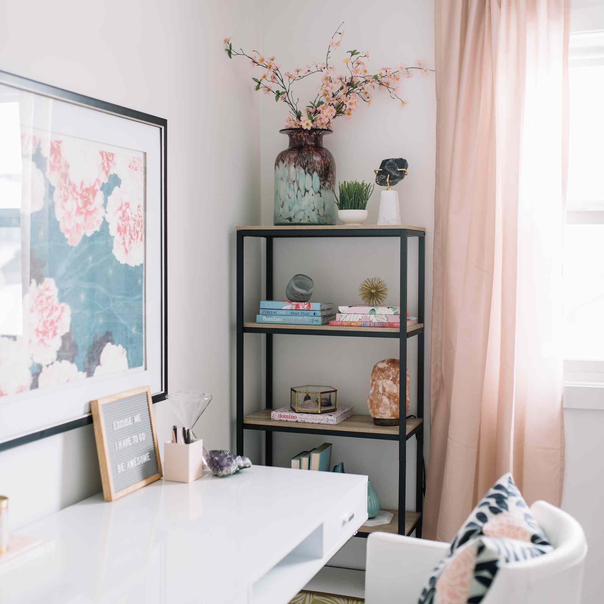 32 Beautiful Home Office Organization Ideas