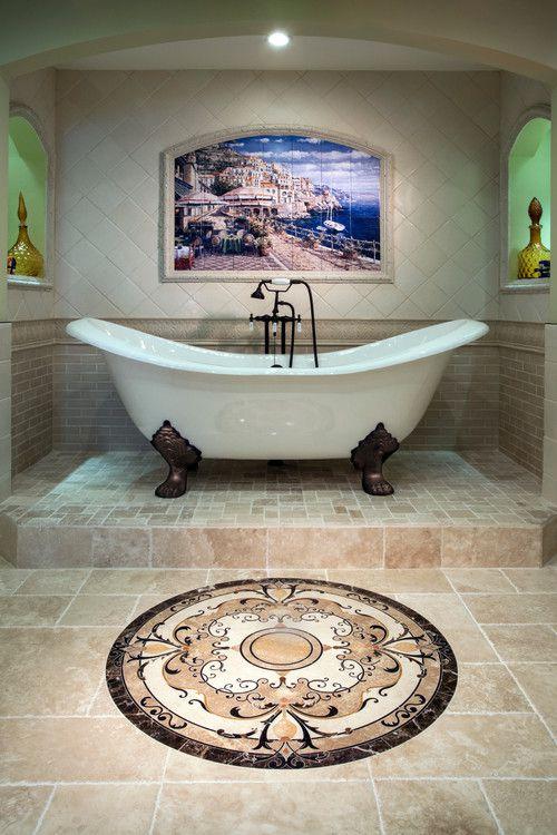 beautiful clawfoot tub