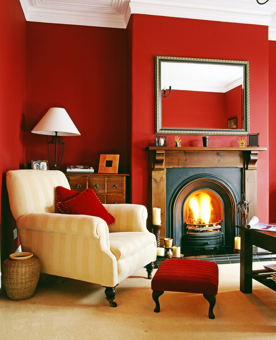 Red Living Room: Feng Shui Color Tips To Create A Beautiful Home