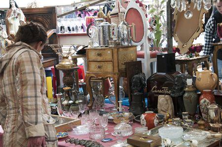 Visit Antique Alley Yard Sale in Texas