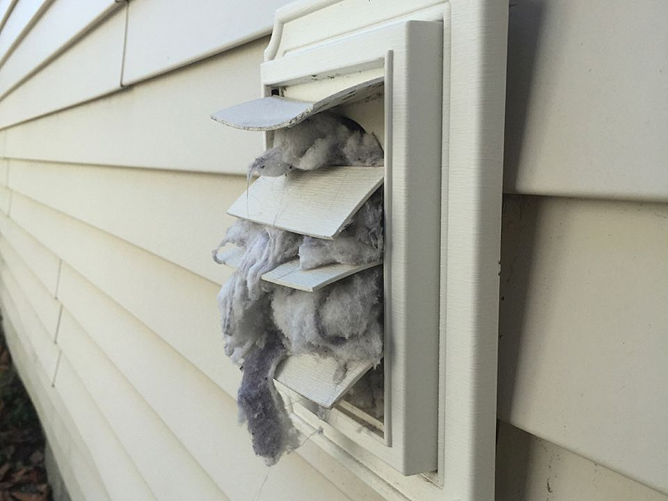 Cleaning Outside Dryer Vent