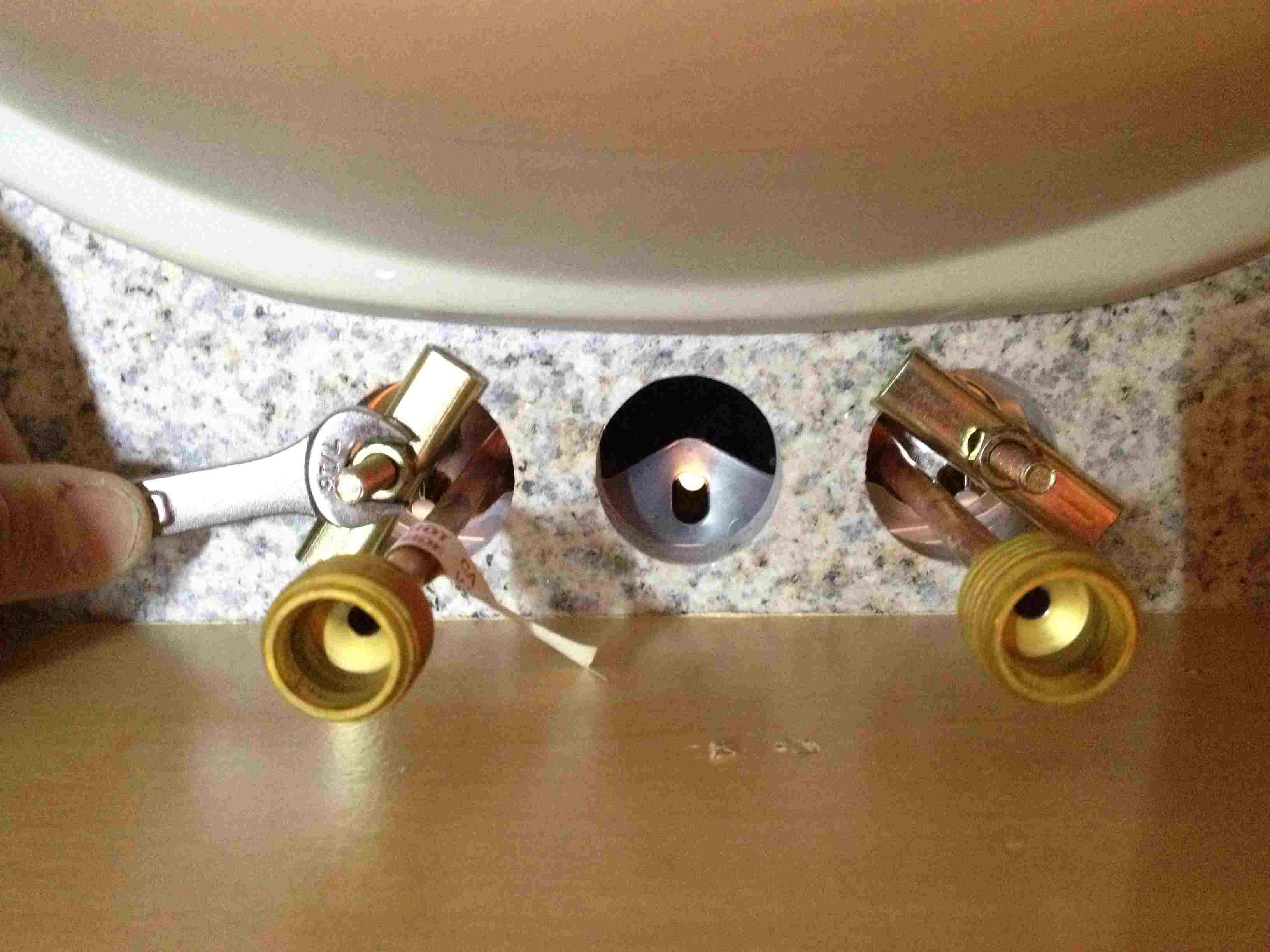 faucet brackets