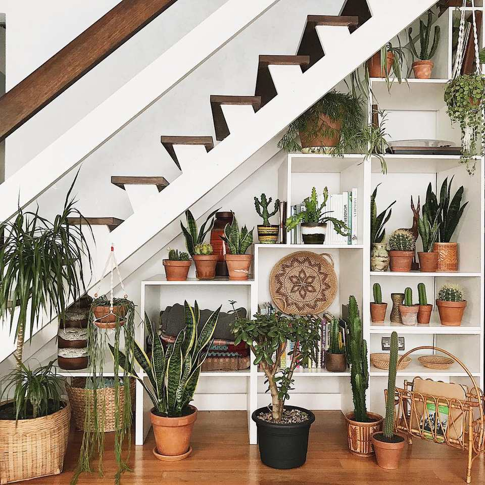 10 Inventive Ideas For That Space Under The Stairs