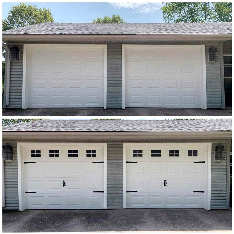 Garage Kits Household Installation Magnetic Panels with Fake Windows Hardware