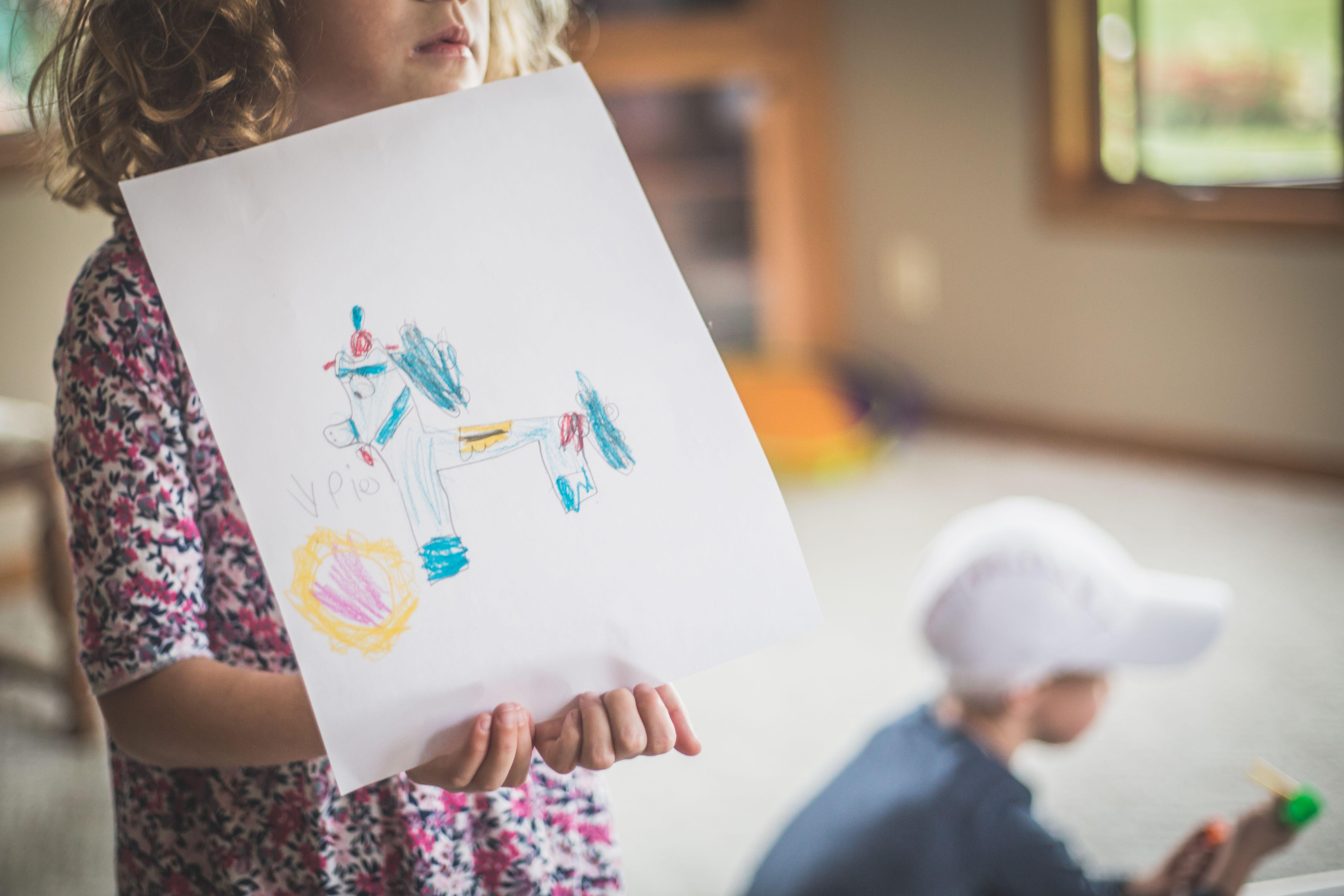 Little Girl's Art