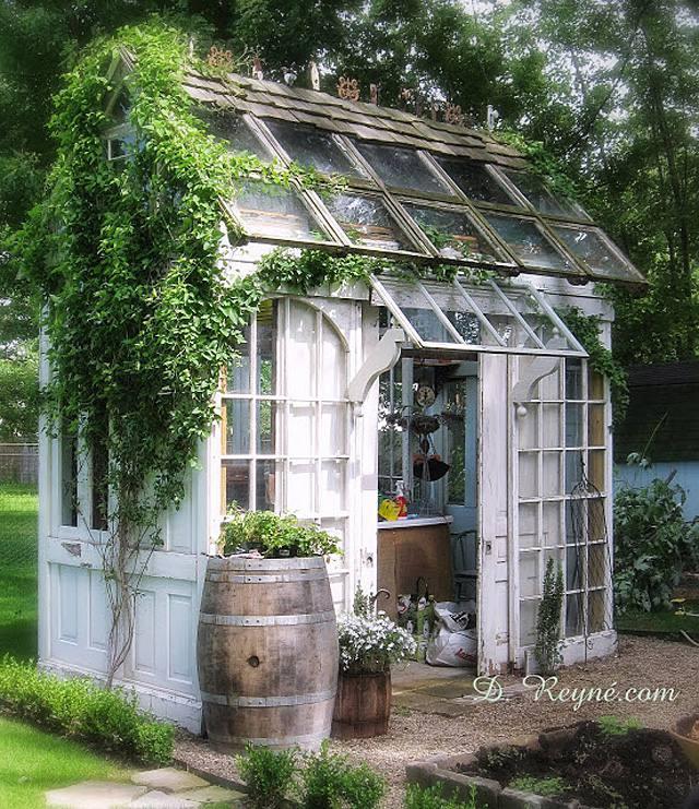 12 Garden Shed Ideas
