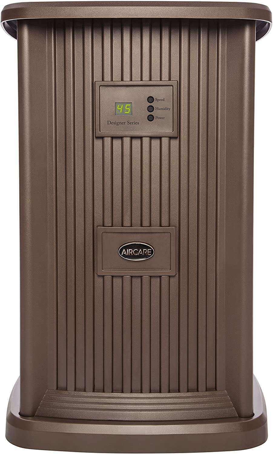 AIRCARE Nutmeg Digital Style Whole House Pedestal Evaporative Humidifier for 2400 sq. ft