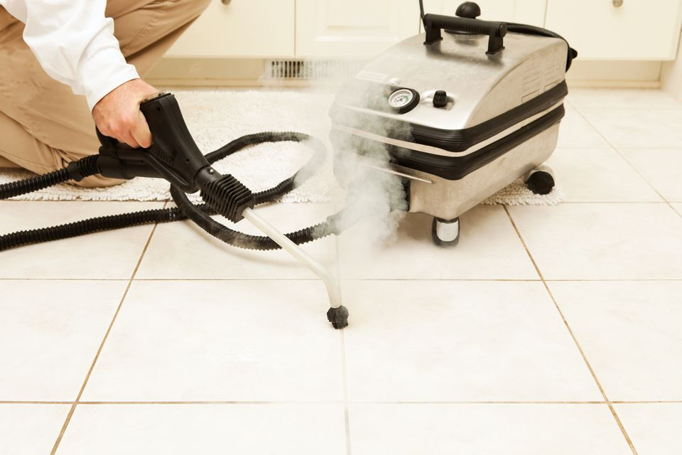 How To Steam Clean Tile Grout