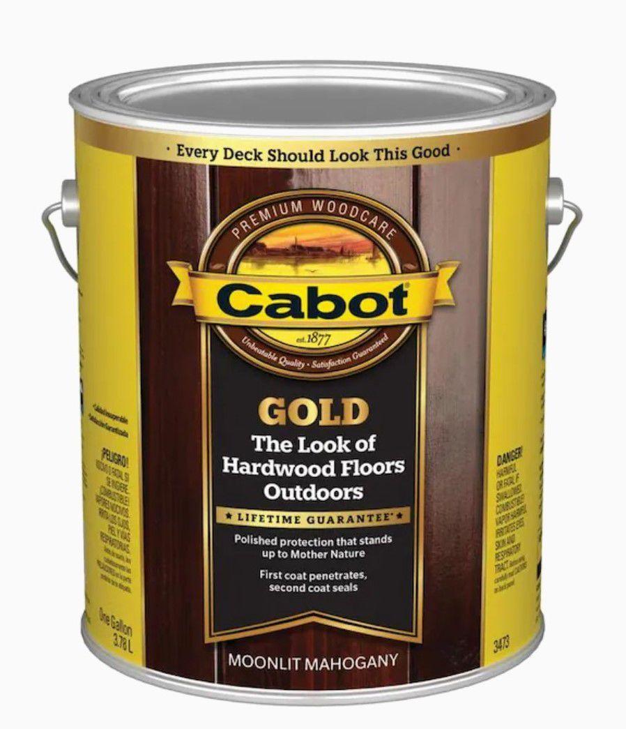 Cabot Gold Transparent Exterior Stain