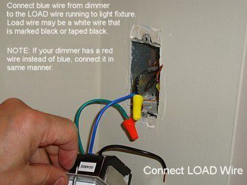 Remarkable How To Install An Electronic Dimmer Wiring 101 Ferenstreekradiomeanderfmnl