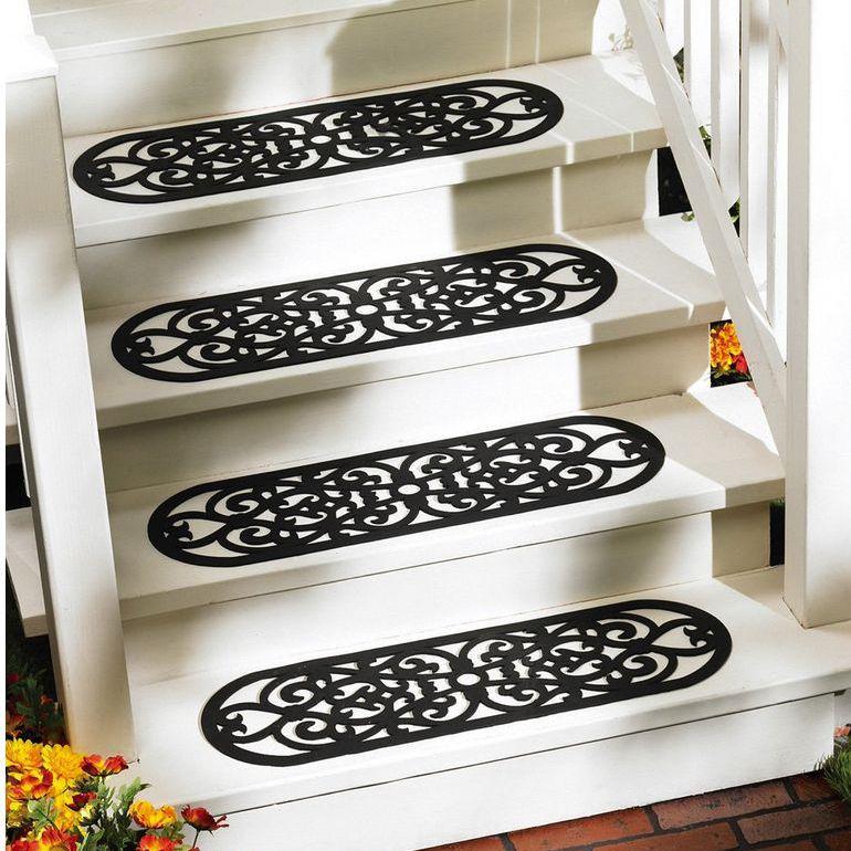 Rubber Stair Tread Mats