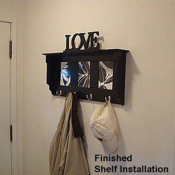final shelf installation