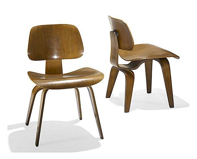 Eames Chairs, 1945-1950