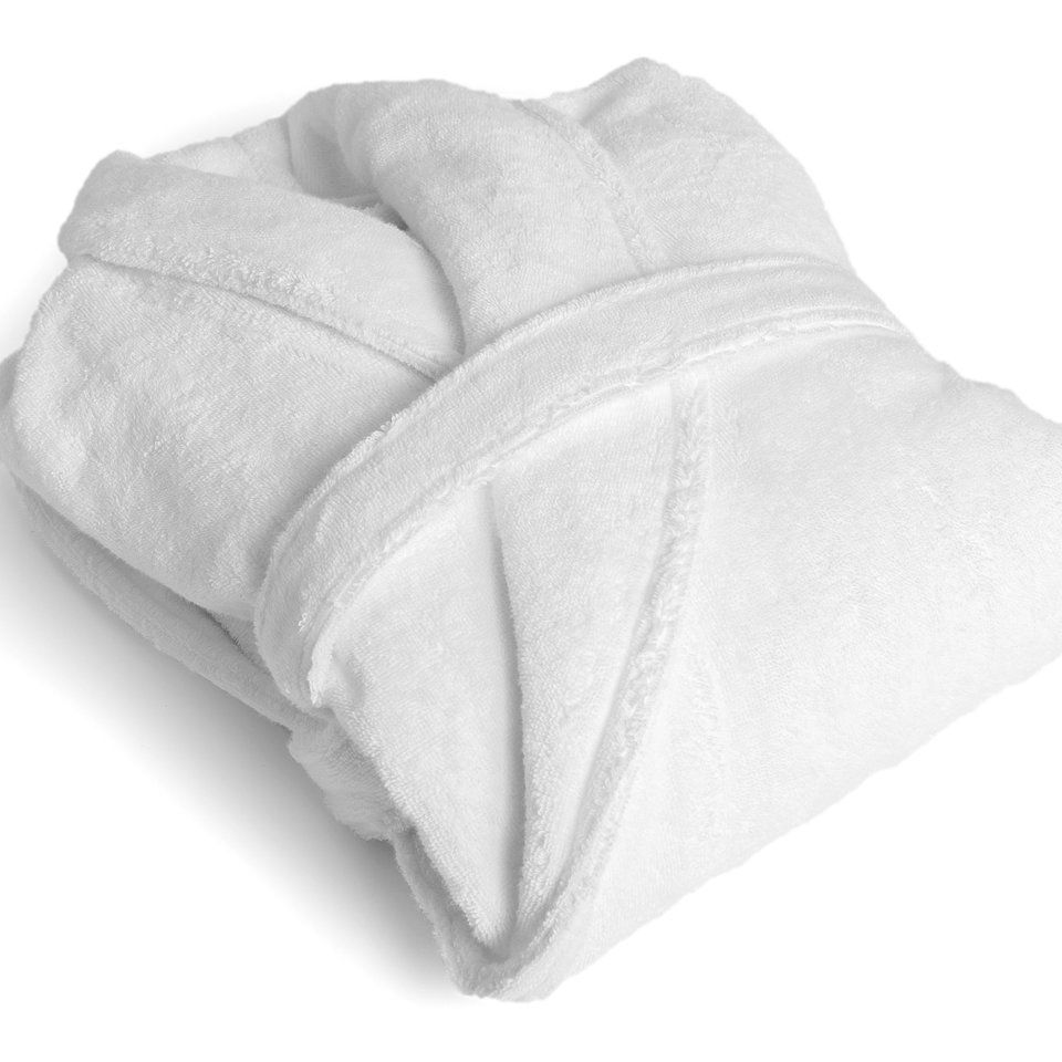 Black White Plaid Short Thick Micro Polar Fleece Bathrobe for Women Gray Collar